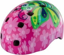 Ages 3 Color Pink NEW Schwinn Butterfly Burst Toddler Bike Helmet