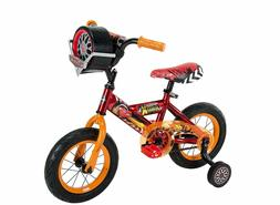 "12"" Disney•Pixar Cars 3 Bike by Huffy, Ages 3-5, Height 37"