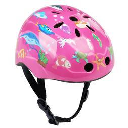 Child Bike Helmet Breathable Adjustable For Boys Girls Cycli