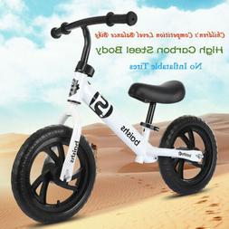 Children Balance Bike  2-6 Years Kids Boys Girls Learn Runni