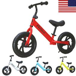 12 inch Children's Balance Bike Car 2-6 Years Kids Boys Girl