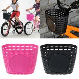 kids children bike bicycle front basket shopping