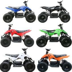 Children Kids Quad Green Mini Pocket Bike Atv Trail Dirt Bug