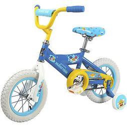 Dynacraft Children's 12 Inch Beginner Kids Bike with Trainin