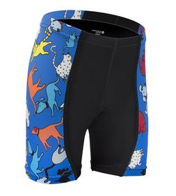 Childs Bike Shorts Kids Biking Padded Youth Short Childrens