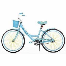 """Cruiser Bike 24"""" La Jolla Girls Aluminum Frame Beach Sports"""