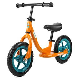 Retrospec Cub Balance Bike No Pedal Kids Bicycle, Orange
