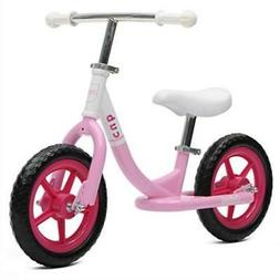 Critical Cycles Cub No-Pedal Balance Bike for Kids Blush Pin