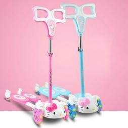 Cute Kitty Cat <font><b>Kids</b></font> Scootertoys for Chil