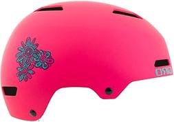 Giro Dime Cycling Helmet - Kid's Matte Bright Pink Blossom S