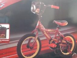 Kids Huffy Disney Cars 3 - 14 Bike - Red NEW
