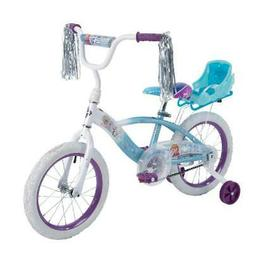 Huffy Disney Frozen 16 EZ Build Girls Bike With Sleigh Doll