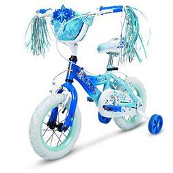 "Huffy 12"" Disney Frozen Girls Bike with Basket & Streamers,"