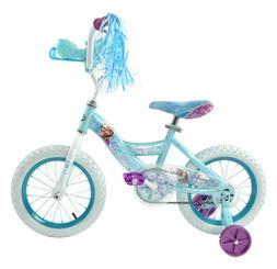 """Huffy Disney Frozen Cruiser Bike with Sleigh - 14"""", Kids Bic"""