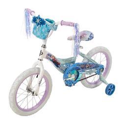 Huffy Disney Frozen Girl's Bike 16 inch, Blue NEW