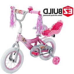 "Disney Princess 12"" Girls' EZ Build Pink Bike, by Huffy"