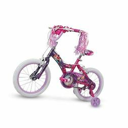 "16"" Disney Princess Girls Bike by Huffy, Magic Mirror Lights"