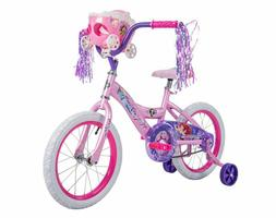 Huffy Disney Princess Girls Bike Kids Bicycle Doll Carriage
