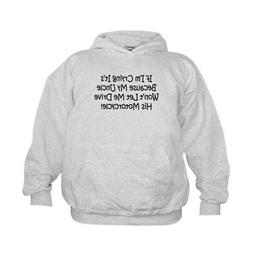 CafePress Drive My Uncles Motorcycle Kids Hooded Swe