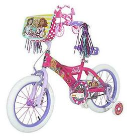 "Dynacraft Barbie Girls BMX Street Bike 12"" Street Bike Pink"