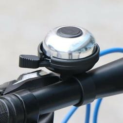 Electric Bicycle Bell Horn Child Scooter Mountain Bike Baby Carriage Ring Silver
