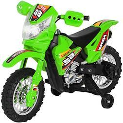 BCP 6V Kids Electric Ride-On Motorcycle Toy w/ Training Whee