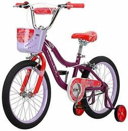 "Schwinn Elm Girl's Bike with SmartStart, 18"" Wheels, Purple"