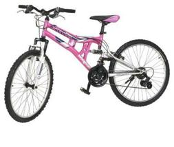 Mongoose Exlipse Full Dual-Suspension Mountain Bike for Girl