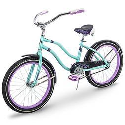 Huffy Kids Cruiser Bike for Girls, Fairmont 20 inch, Teal