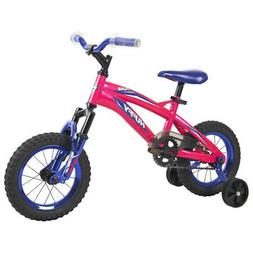 Huffy Flair Kids Girls 12 Inch Bike Bicycle with Training Wh