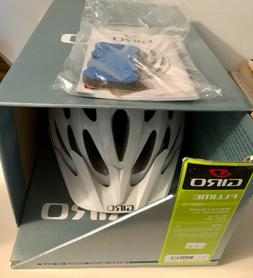 GIRO FLUME White kids Bicycle Helmet Bike cycling, Universal