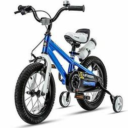 RoyalBaby Kids Bike Boys Girls Freestyle BMX Bicycle with Tr