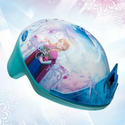 Frozen Toddler Bike Helmet with Tiara