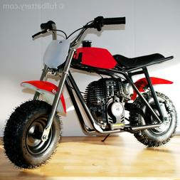 Gas powered mini bike - dirt bike for kids - no mixing oil -