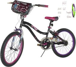 Dynacraft Girl'S 20-Inch Monster High Bike, Black/Pink