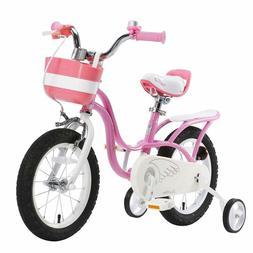 RoyalBaby Girl's Bike Little Swan for 3-9 Years Old 14 16 18