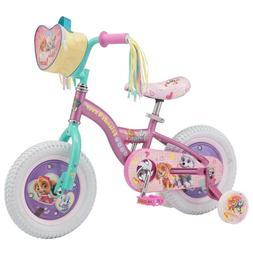 "Girls 12"" Nickelodeon Paw Patrol Bike - Skye Purple"