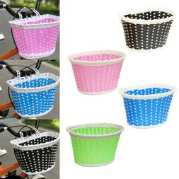 Girls Bicycle Front Basket Flower/shopping Childs/childrens/
