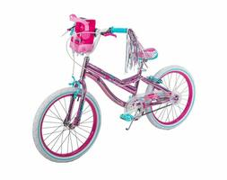 girls bike 20 inch metallic pink mirabelle