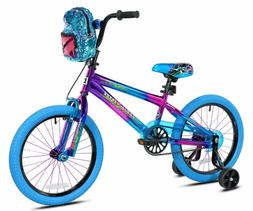 Girls Bike Blue Bikes 18 Inch Bicycles For Kids Children W T