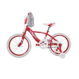 "18"" Huffy Glimmer Girls Bike, Red"