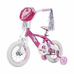 "Huffy Glimmer Girls Bike, Fast Assembly Quick Connect, 12"","