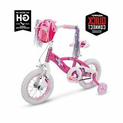 """Huffy Glimmer Girls Bike, Fast Assembly Quick Connect, 12"""","""