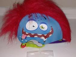 Grrr-Tastic Kids Bicycle Helmet Monster Mohawk Red Hair Goof