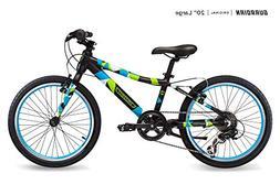 Guardian Lightweight Kids Bike 20 Inch, Safe Patented SureSt