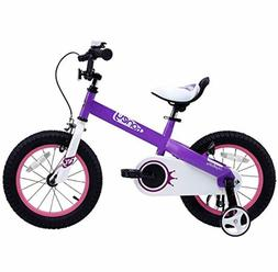 RoyalBaby Honey and Buttons Bike Kids Color Lilac