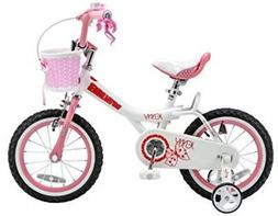jenny pink 16 inch kid s bicycle