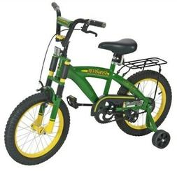 "John Deere 16"" Boys Bicycle, Green"