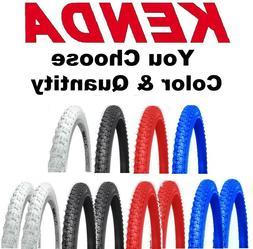 "Kenda K50 Comp III 20"" Bike Tire Choose Color& Qty& Size 1.7"
