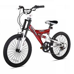 Kent Super 20-Inch Boys Mountain Bicycle in Red/Black
